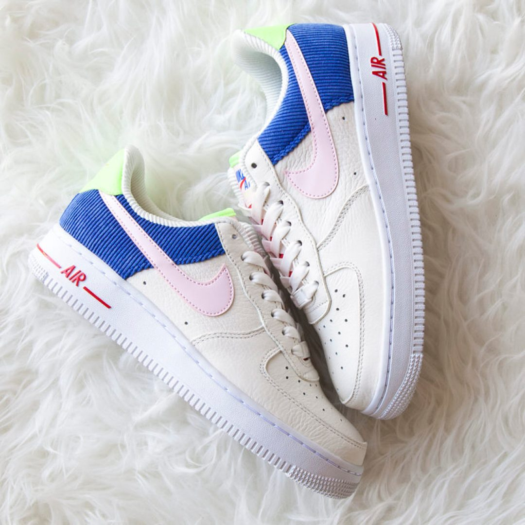 7dd9f2acd3976e Such is the case on this new Nike Air Force 1 Low release. Made with the  ladies in mind in regards to sizing