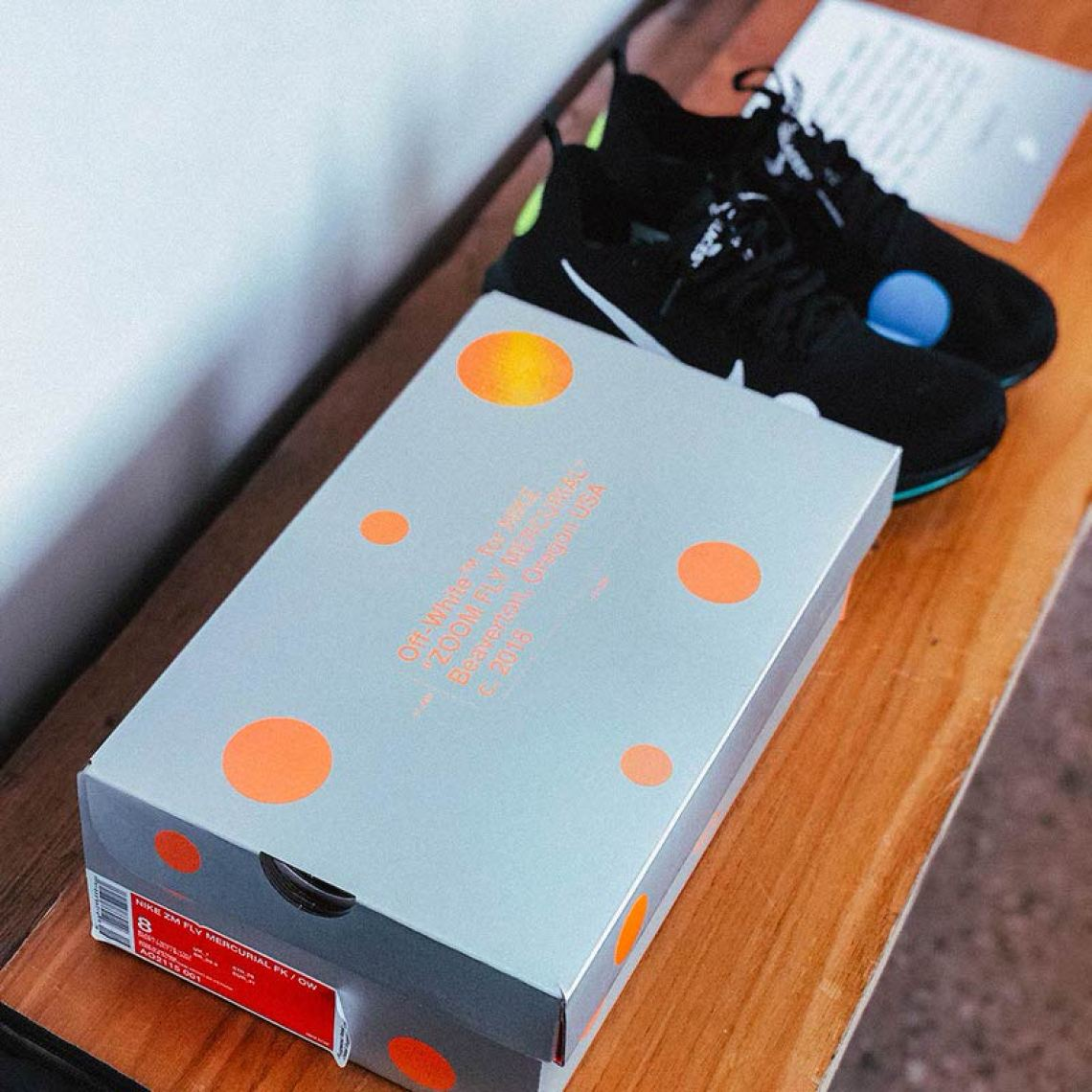 bf3f40fbabdff Check Out 2018 off white x nike zoom fly mercurial flyknit black ...
