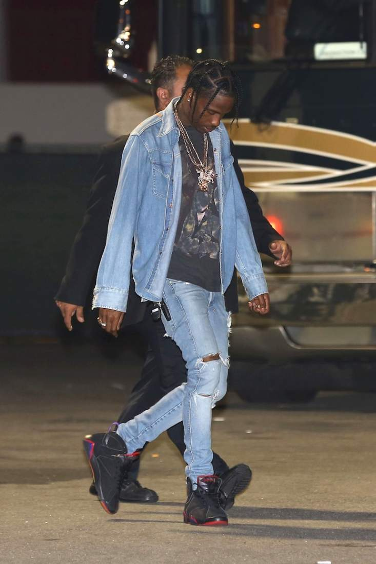 What They Re Rocking Travis Scott Nice Kicks