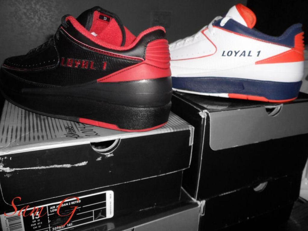"""Air Jordan 2 Low """"Cavs"""" PE"""