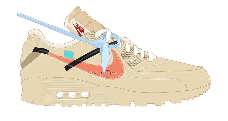49d52ce00cd4 Off-White x Nike Air Max 90