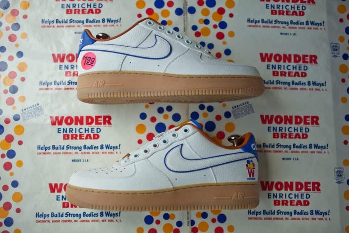 "new product e5c0c 79423 Nike Air Force 1 Bespoke ""Wonder Bread"""