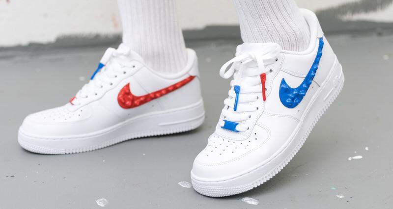 buy online 0a9e3 3c441 Custom Nike Air Force 1 Drips with Rubber Branding   Nice Kicks
