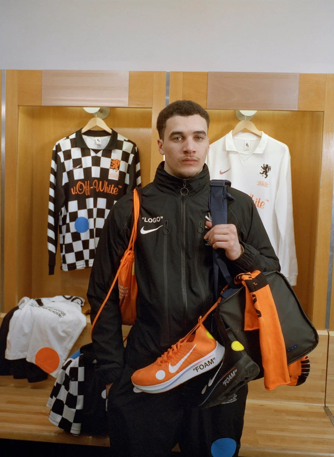 """OFF WHITE x Nike """"Football, Mon Amour"""" Collection"""