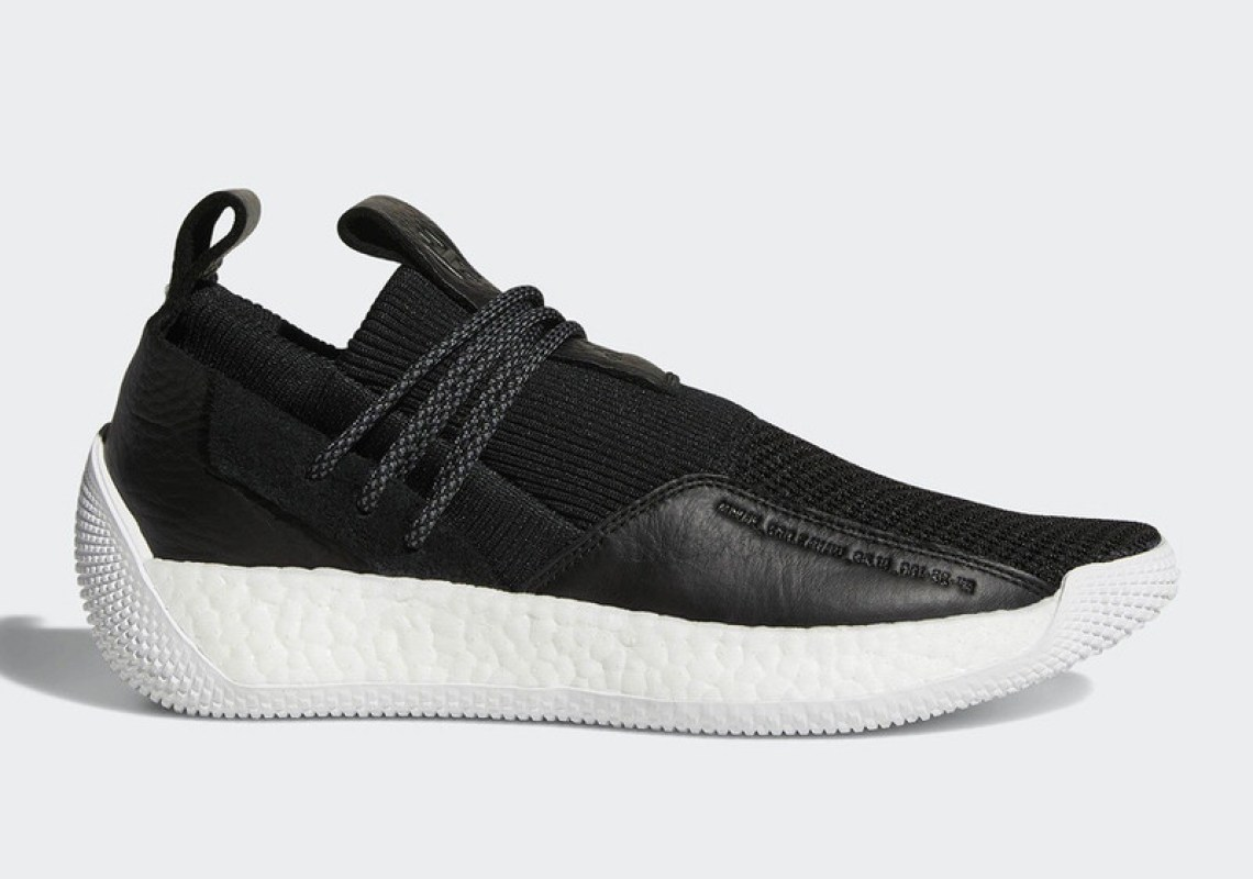 """559758c8eb00 The """"Grey Core Black"""" colorway of the adidas Harden LS 2 Night Life is  available now on adidas.com. The """"Black White"""" version will drop on 7 14."""