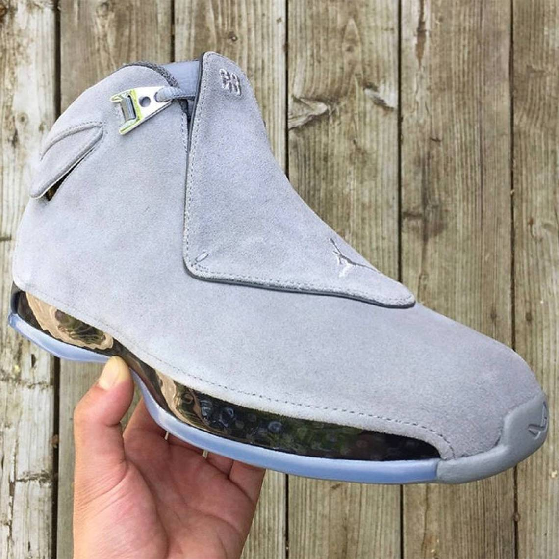 "Air Jordan 18 ""Cool Grey"""