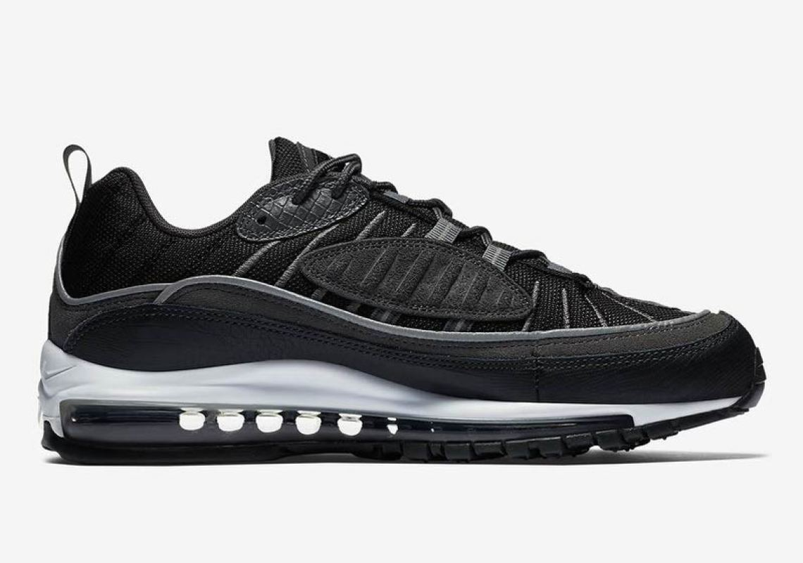 Nike Air Max 98 Black/Anthracite