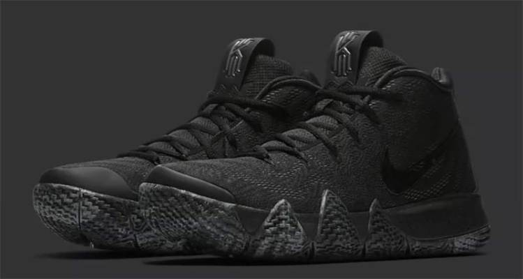 "Nike Kyrie 4 ""Triple Black"""