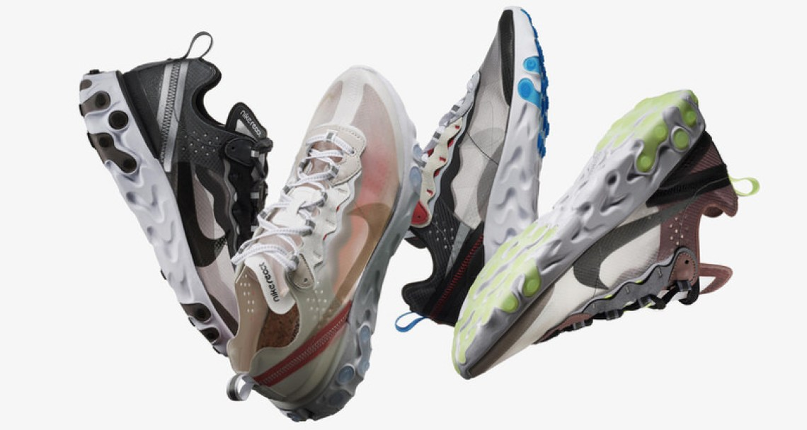 969fea2faacdb When Nike s React Element 87 first debuted on a Paris runway during the  UNDERCOVER fall winter 2018 presentation back in March