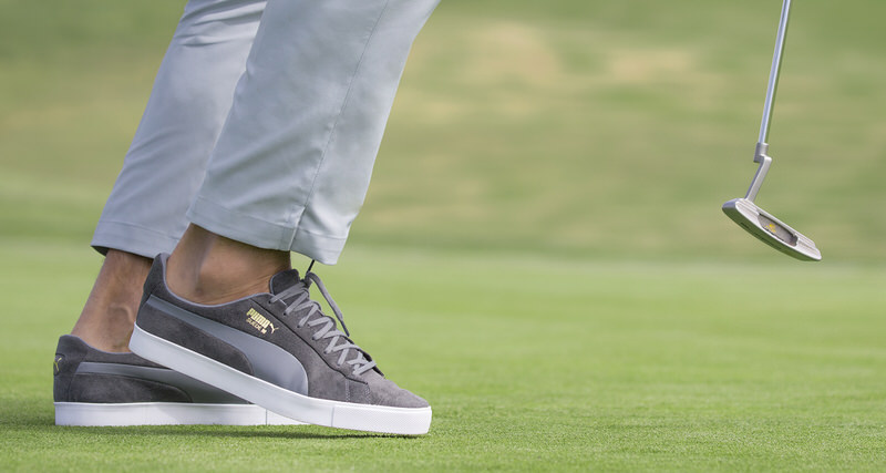 449aa581e6a PUMA Suede Goes Golfing for 50th Birthday