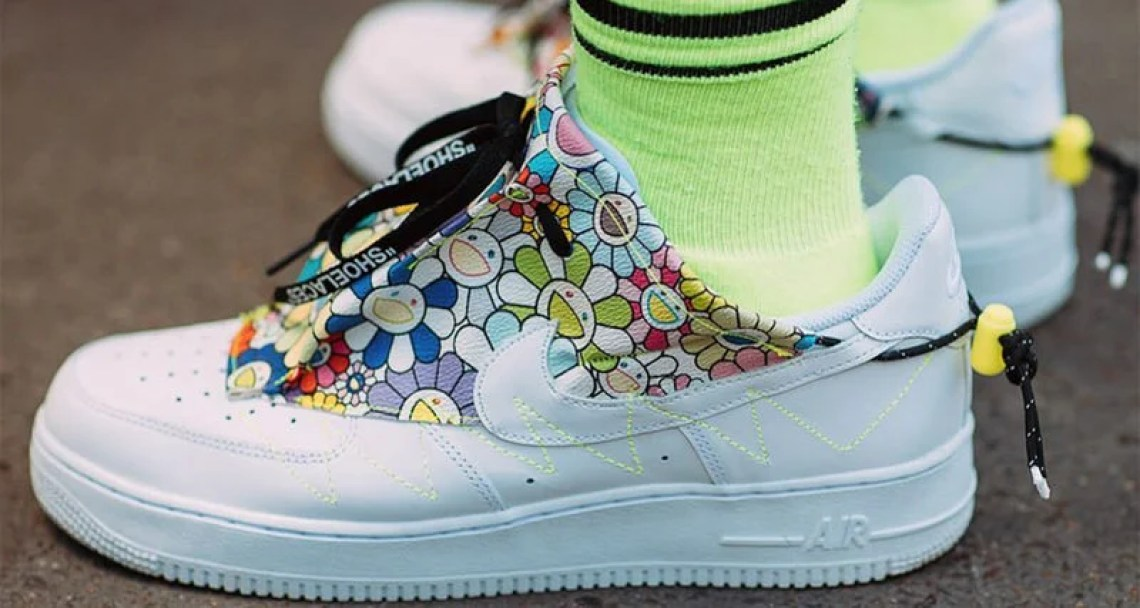 "Nike Air Force 1 ""Flower Power"" Custom"