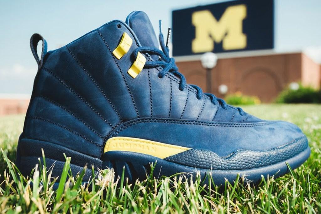 """8906aa042d29 Air Jordan 12 """"Michigan""""    Release Date"""