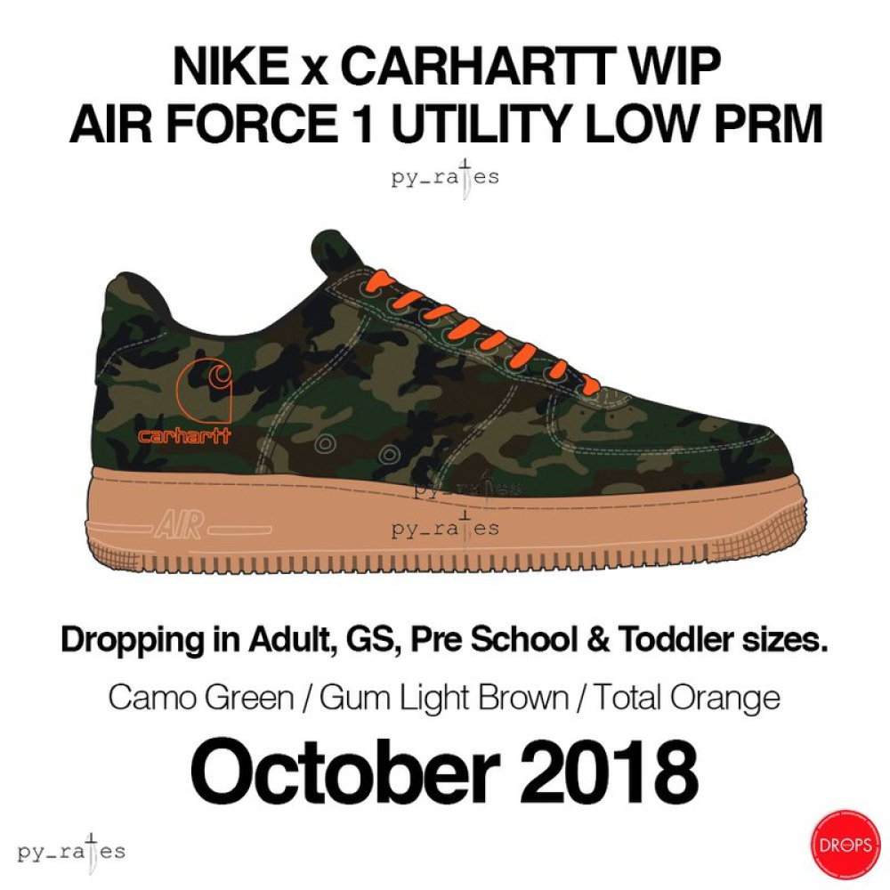 Another Carhartt x Nike Collaboration is Rumored to Be in the Works ... 4a55c4a31e8