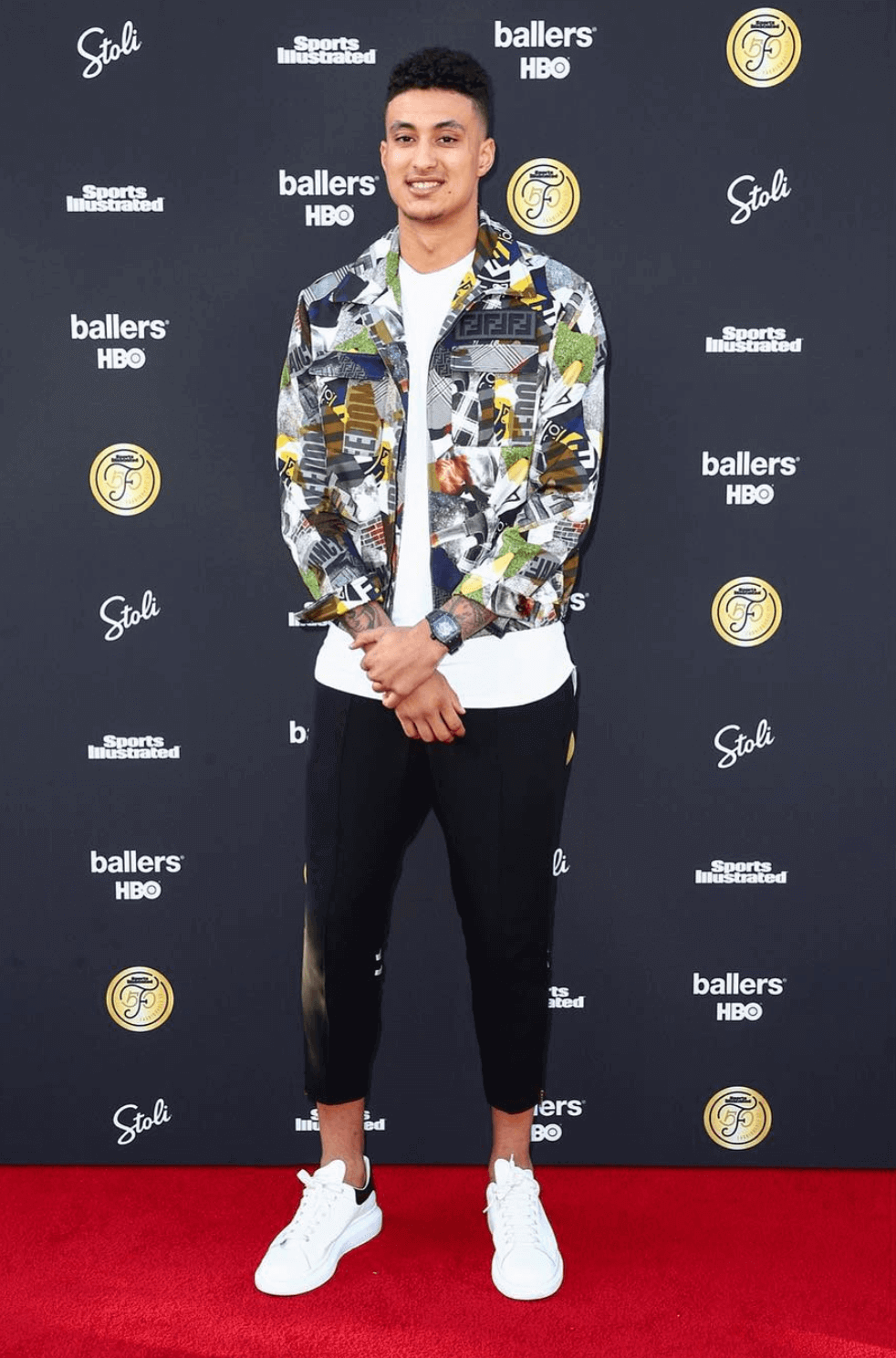 Kyle Kuzma in the Alexander McQueen Sneakers