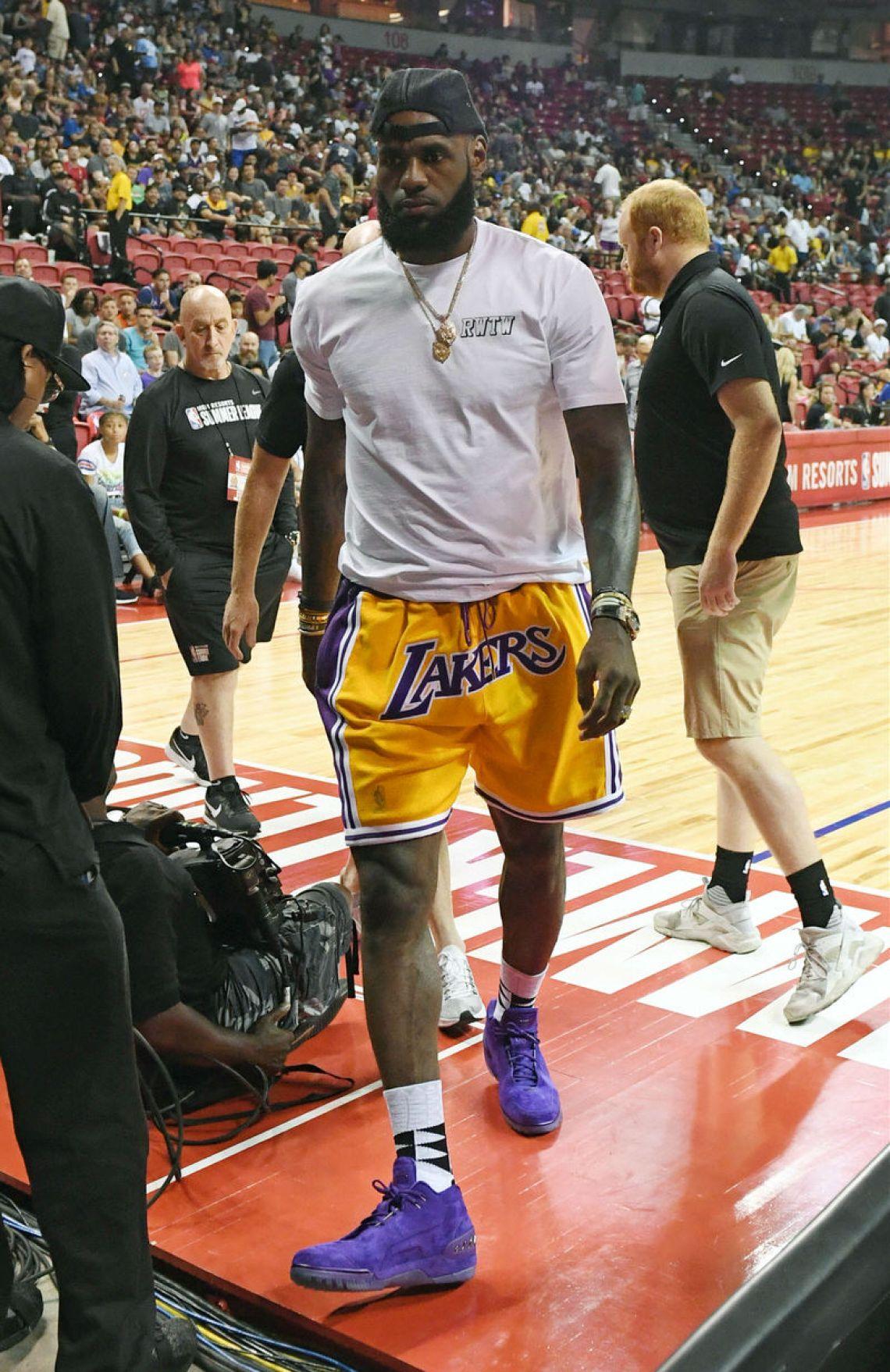 LeBron James Los Angeles Lakers Nike Dri-FIT - Women s NBA T-Shirt.  35 77e201275