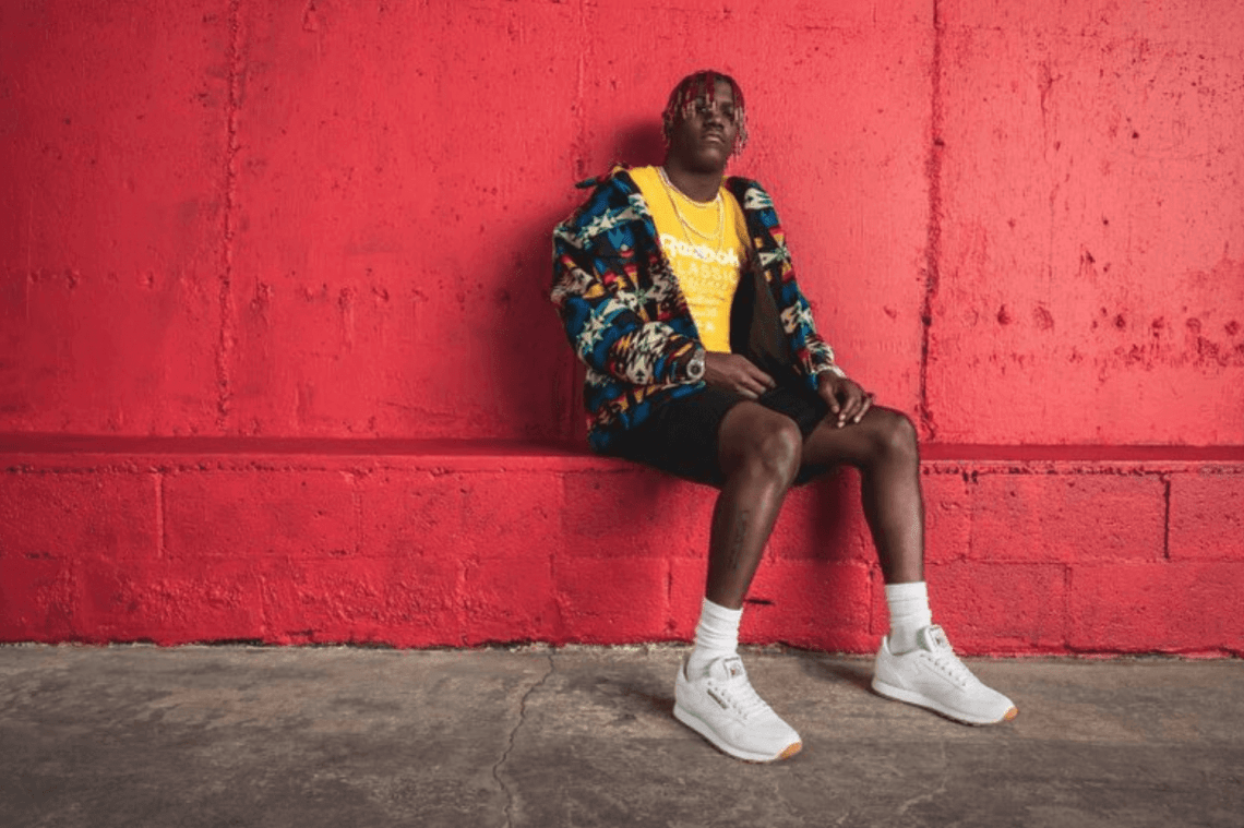 Lil Yachty in the Reebok Classic Leather