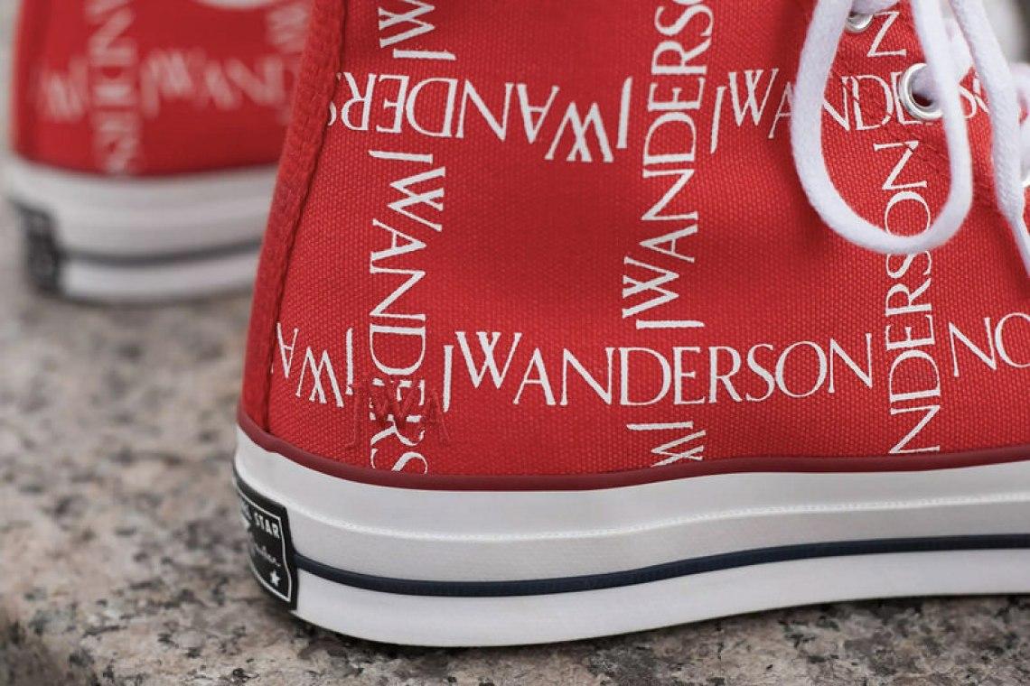 """e38e59ba24cd27 ... Red"""" JW Anderson x Converse Chuck 70"""