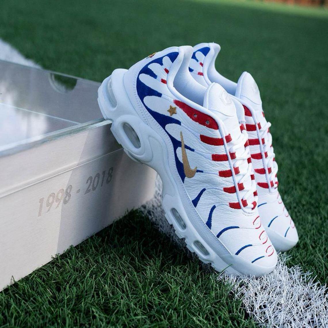 """Kylian Mbappe x Nike Air Max """"1998-2018"""" Pack"""