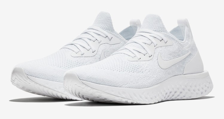 "Nike Epic React ""Triple White"""