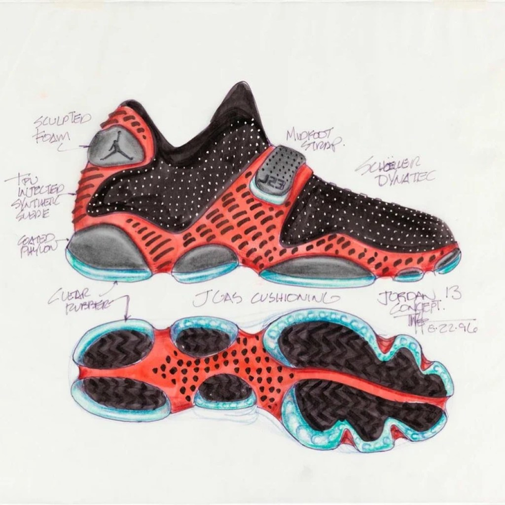 7cdb12f85df Thanks to Knicks guard and Jordan Brand athlete Tim Hardaway Jr., we know  that the Tinker Hatfield-designed Air Jordan 13 will soon be dropping in  the ...