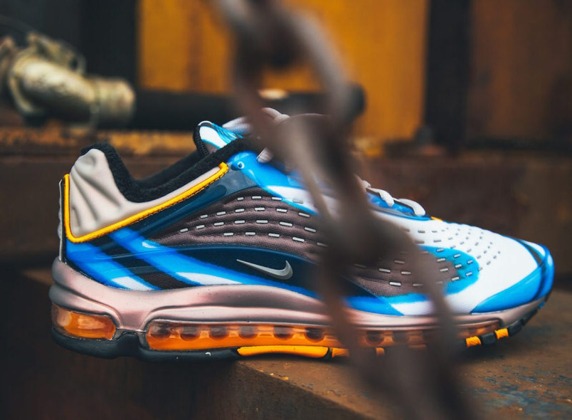 """e2844b67fc7 Nike Air Max Deluxe """"Photo Blue"""". Product    AJ7831-401. Release Date  ..."""