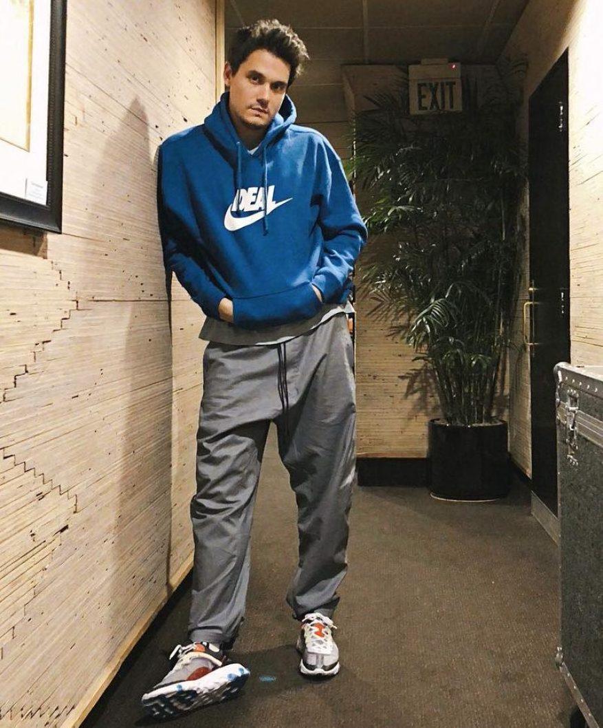 John Mayer in the Nike React Element 87