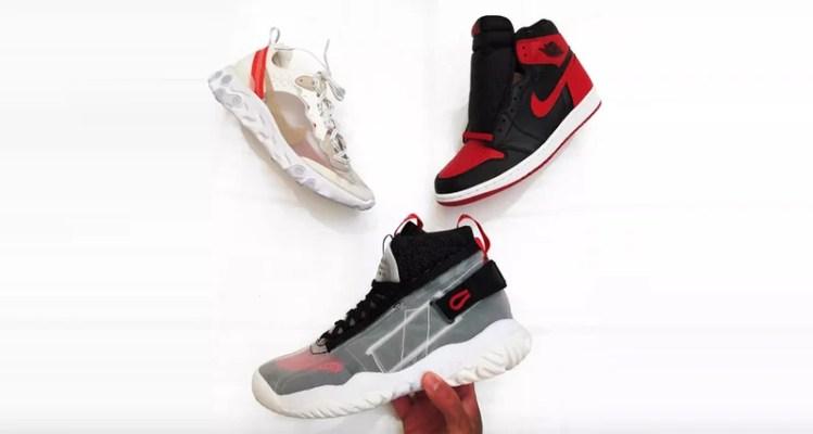 Air Jordan 1 Flyknit x React Element 87 Fusion