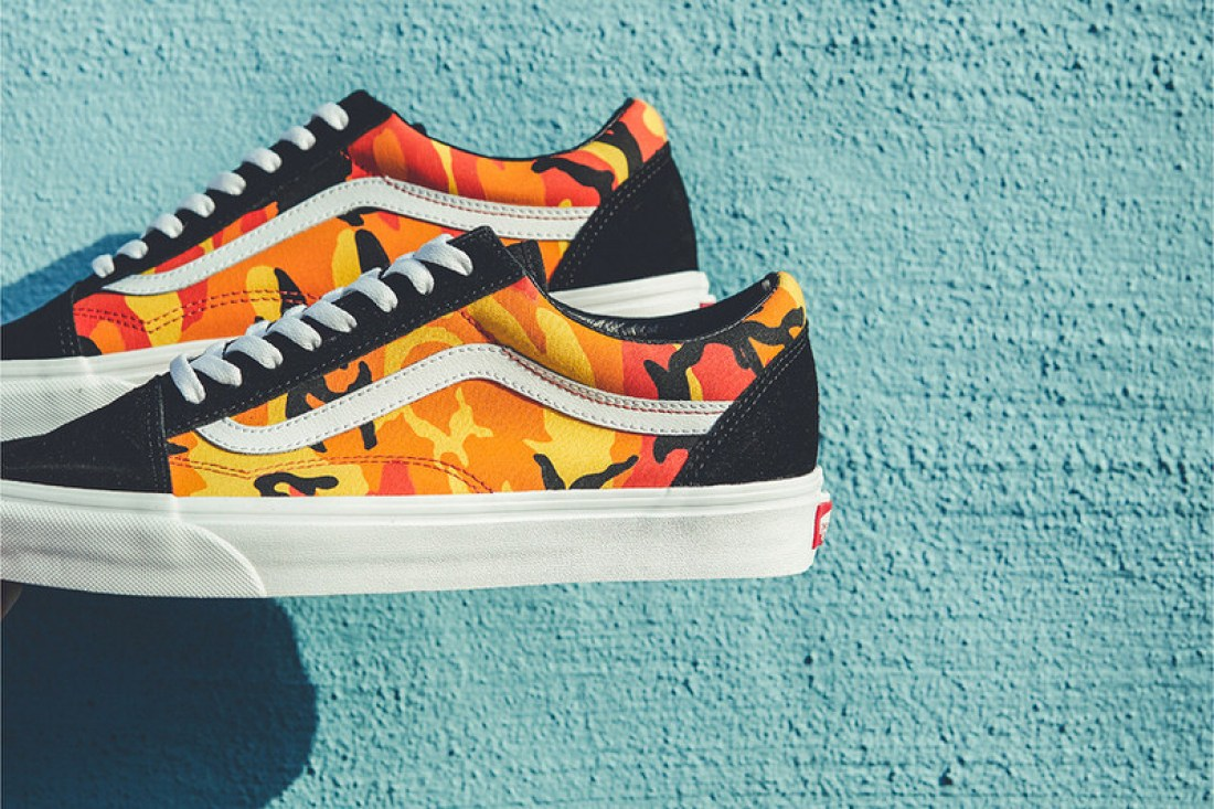 1b817f74b88a3 Pairs are available now at Vans. photos by BILLY'S ENT · Vans Authentic 'Pop  Camo' ...