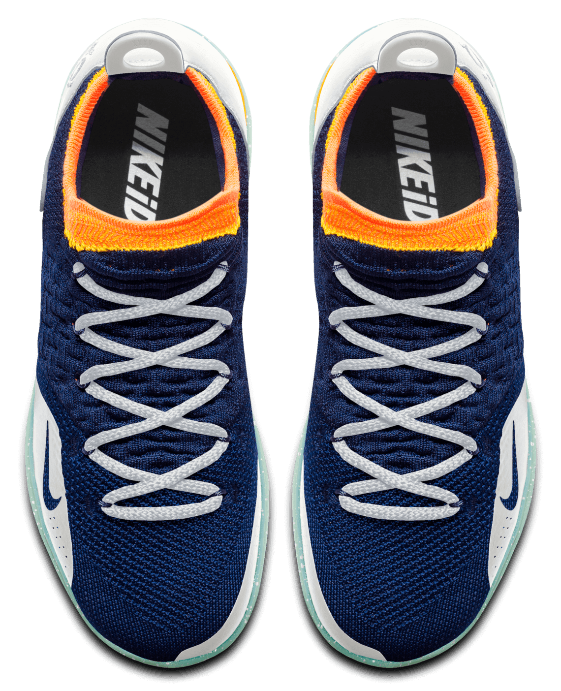 ecd981b190a1 Peep our off the cuff creation in the pics above and below and make your  own here. Nike Zoom KD11