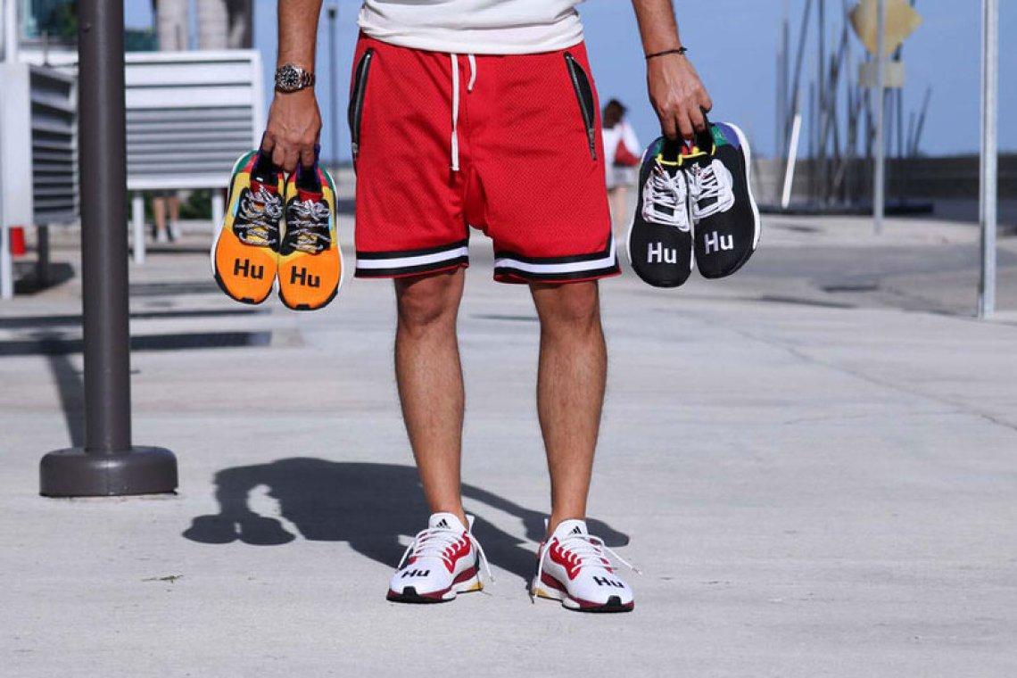 0ecdfed89cff0 adidas Originals x Pharrell Williams Solar HU Glide M CNY.  138  97