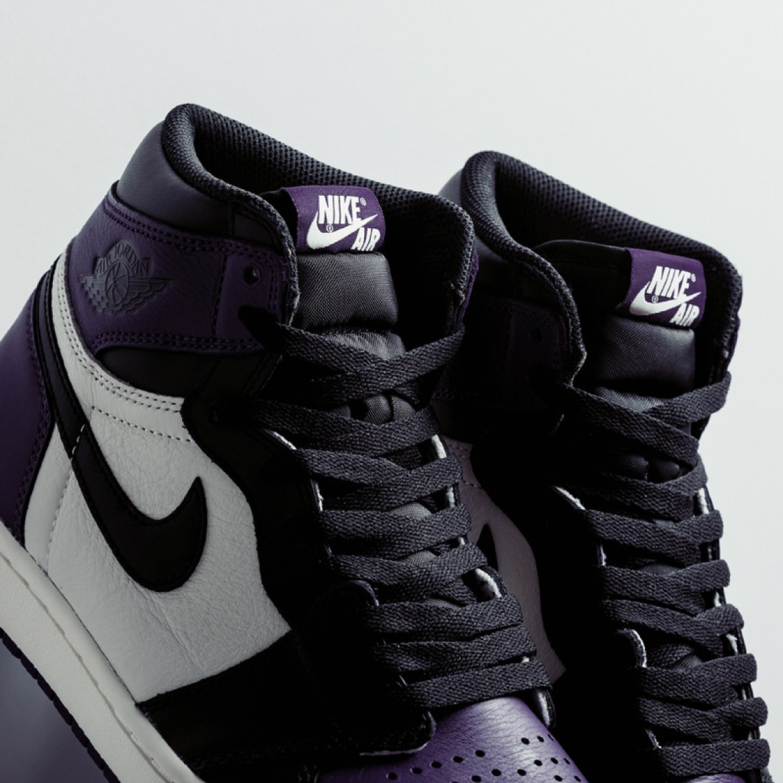 Air Jordan 1 Retro High OG. Colorway  Court Purple Black-Sail Style     555088-501. Release Date  September 22 7d1e41cbe