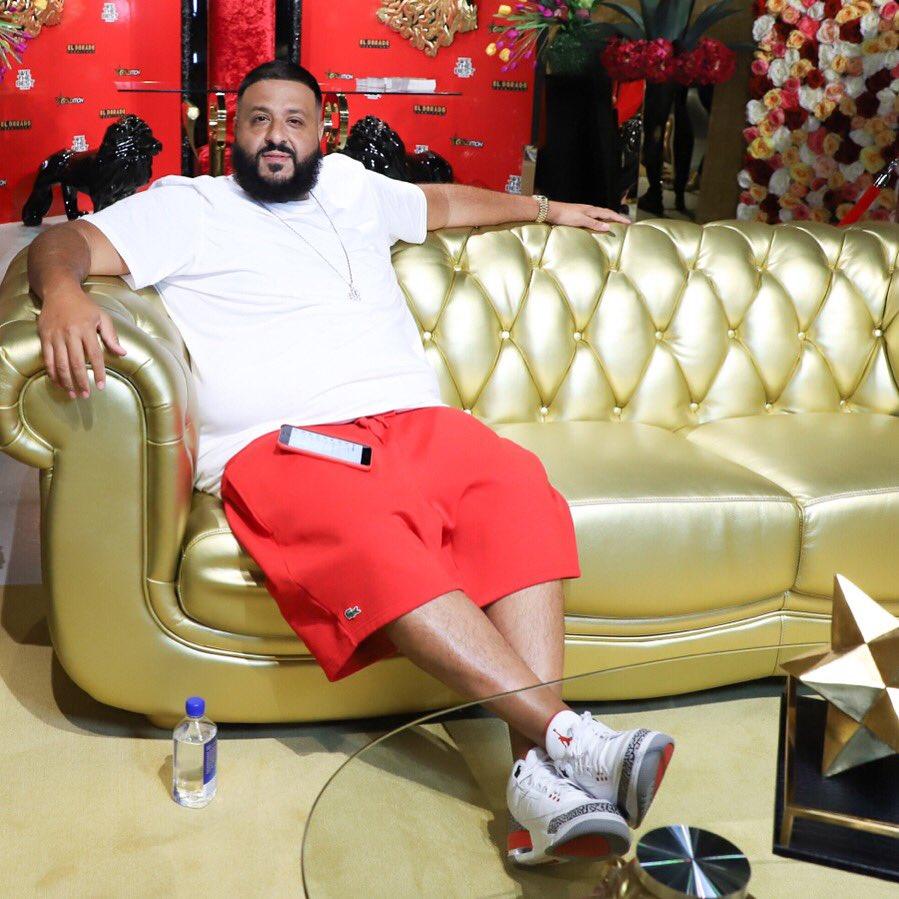 """DJ Khaled in the Air Jordan 3 Retro """"Katrina"""""""