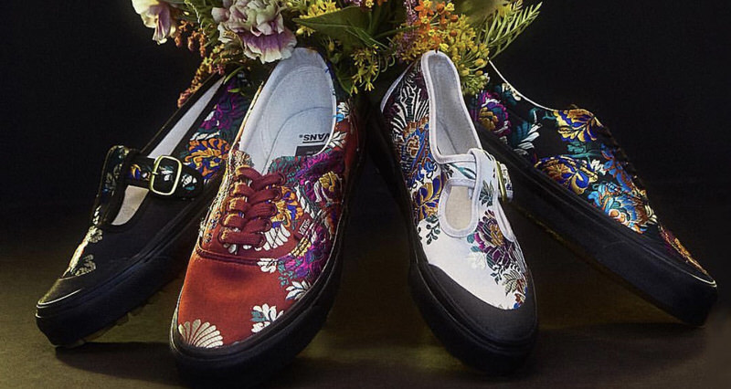 "b840c18404 opening ceremony x vans ""satin floral"" pack    available now"