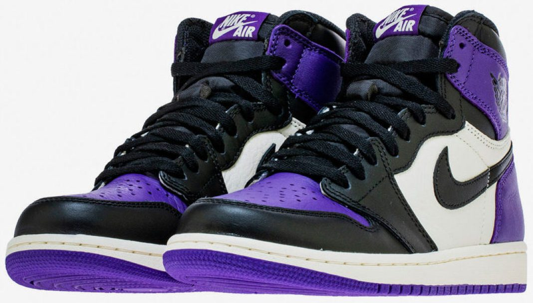 "Air Jordan 1 ""Court Purple"""
