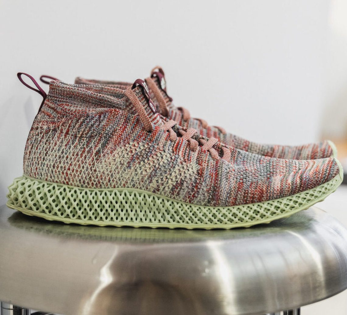 "acc2cdf3f9511 KITH x adidas Ultra Boost Mid ""Aspen"" Surfaces with Futurecraft 4D Tooling"