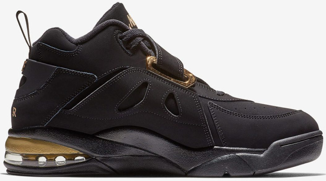 free shipping df012 aceeb Nike Air Force Max CB Black Metallic Gold