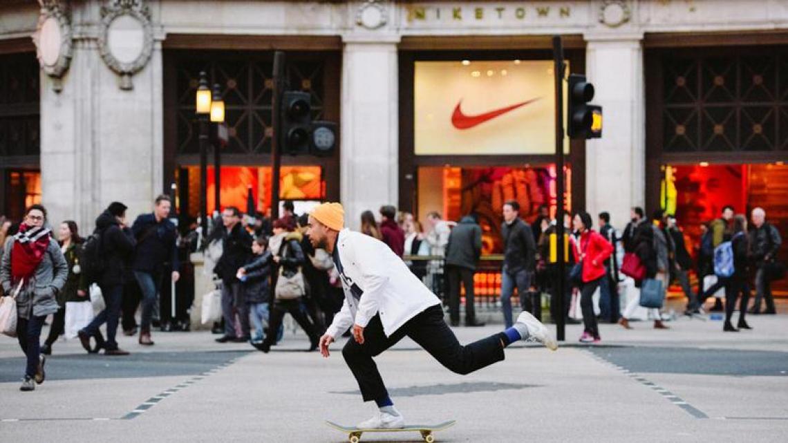 Kick, swoosh.