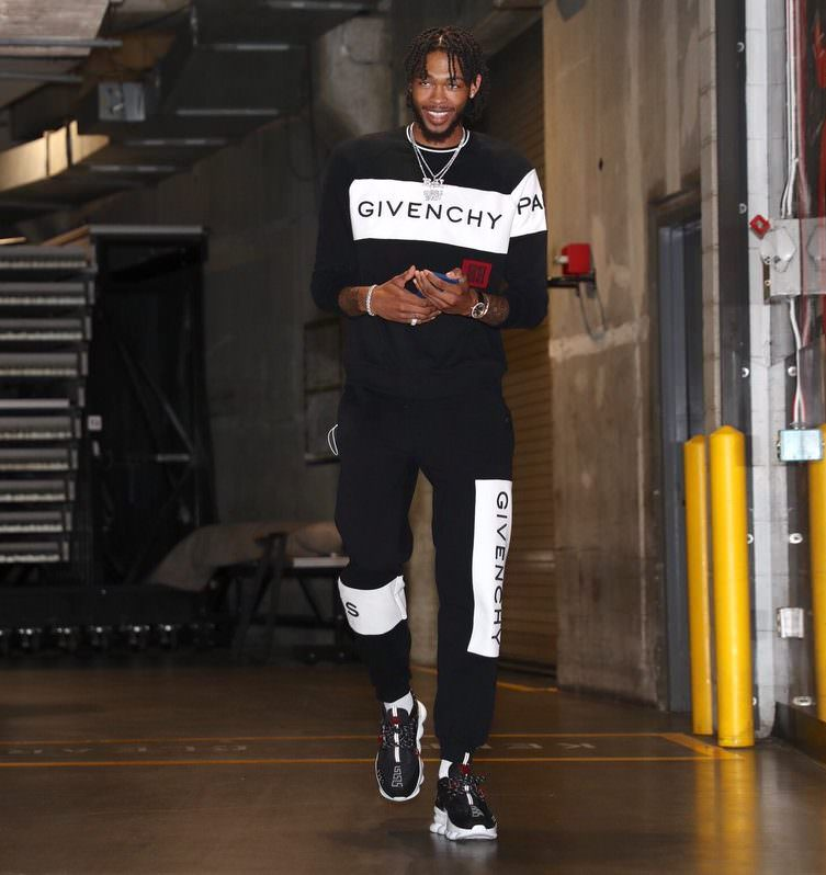 Brandon Ingram in the Versace Chain Reaction