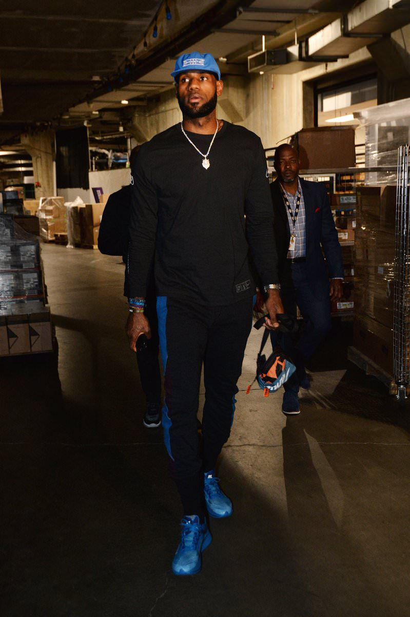 Lebron James in the Nike x Gyakusou Zoom Fly