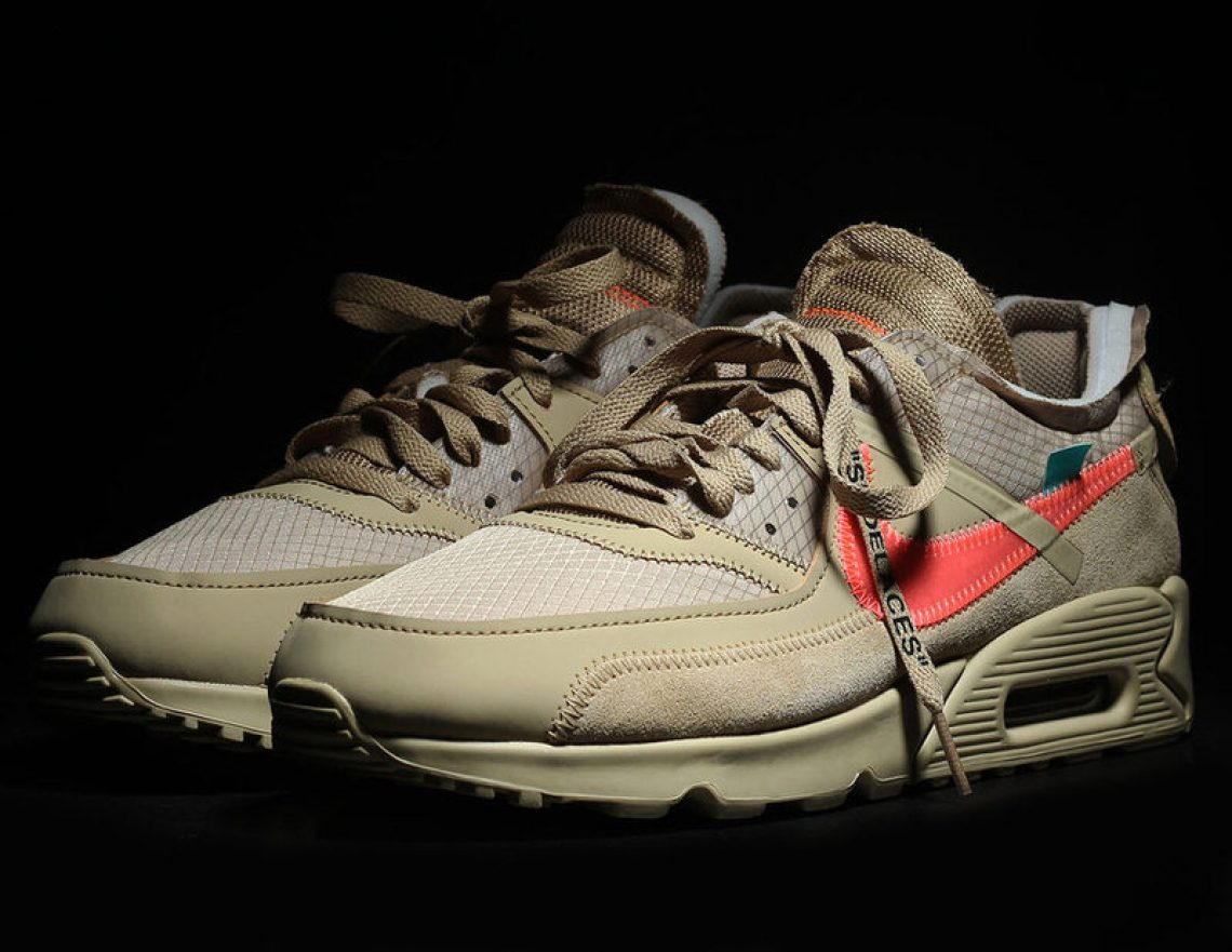 "super popular d635f ce9d8 Dubbed the Off-White x Nike Air Max 90 ""Desert Ore,"" this pair is rumored  to be priced at  160. Stay tuned for more information regarding the release  date ..."