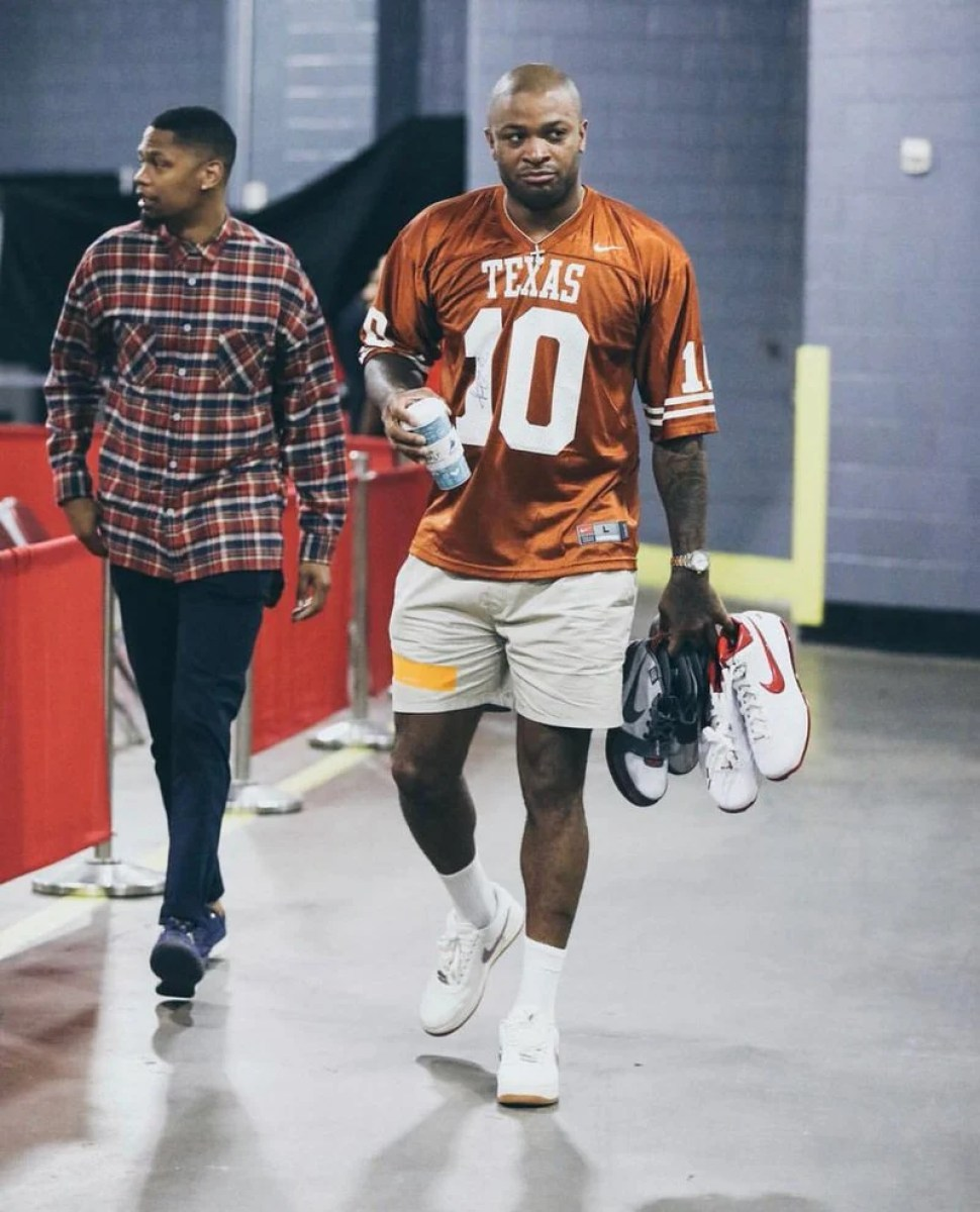 PJ Tucker in the Travis Scott x Nike Air Force 1 Low