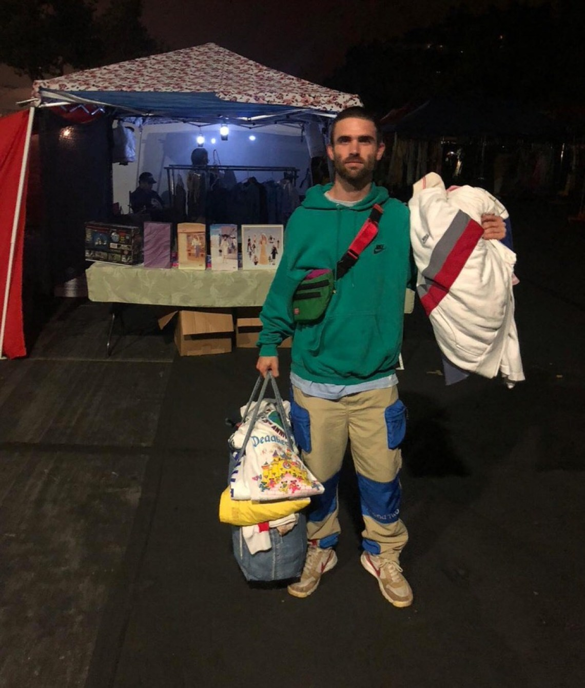 Sean Wotherspoon in the Tom Sachs x Nike Mars Yard