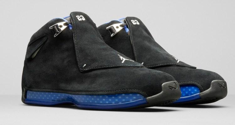 Air Jordan 18 Black/Royal