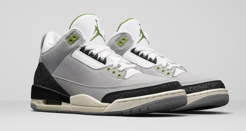 "Air Jordan 3 ""Chlorophyll"" Release Date"
