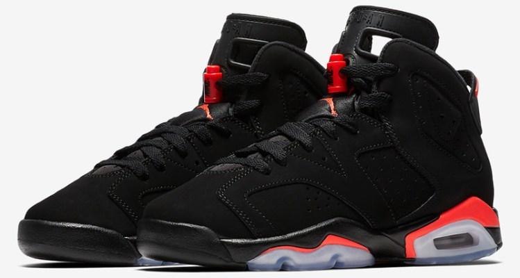 """Air Jordan 6 GS """"Black Infrared"""""""