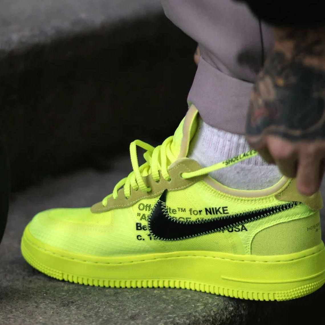 8c1b4905aaab Can Virgil Bring Volt Back With Off White x Nike Air Force 1