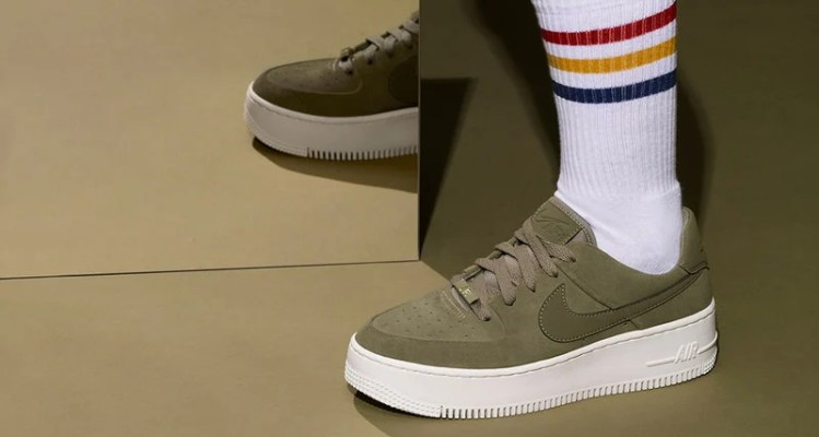 the latest 25b81 0ffd9 Nike Air Force 1 Sage Low