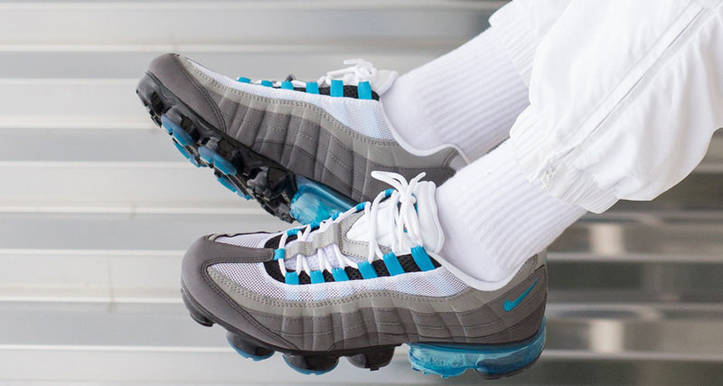 """59cd9f6d2f7 Nike Air VaporMax 95 """"Neo Turquoise"""" Continues Hybrid Series"""