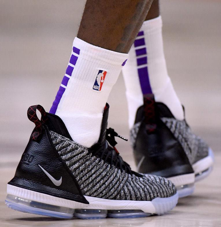 58eca3c90318 Every Sneaker LeBron James Has Worn This Season - Actif Apparel