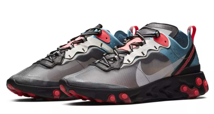 Nike React Element 87 Black/Cool Grey